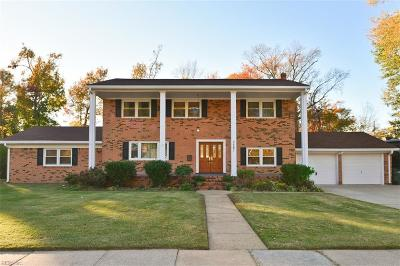 Norfolk Single Family Home For Sale: 7761 Leafwood Dr