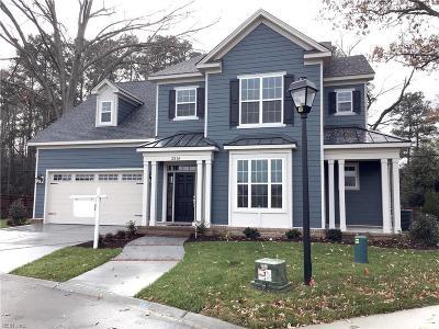 Virginia Beach Single Family Home For Sale: 2316 M J Beasley Trl