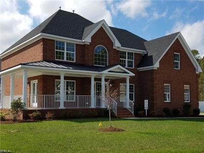 Chesapeake Single Family Home For Sale: 201 Chaffins Cts