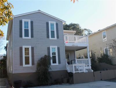 Virginia Beach Single Family Home For Sale: 5601 Dawson Rd