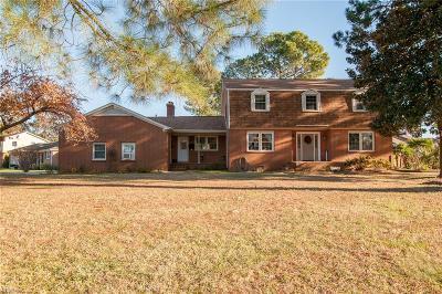 Virginia Beach Single Family Home For Sale: 5225 Executive Blvd