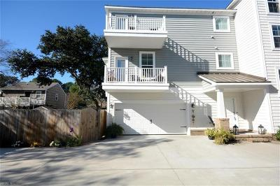 Virginia Beach Single Family Home For Sale: 3739 Surry Rd