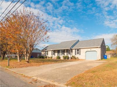 Portsmouth Single Family Home For Sale: 4812 Hatton Point Rd