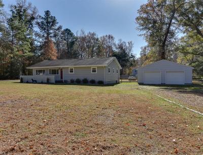 Chesapeake Single Family Home For Sale: 2525 Saint Brides Rd W