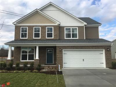 Chesapeake Single Family Home Under Contract: Lt 75 Kathys Way
