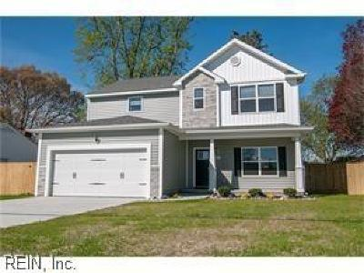 Virginia Beach Single Family Home New Listing: 809 Plymouth Ln