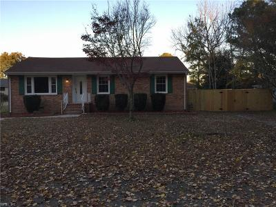 Portsmouth Single Family Home New Listing: 5712 Gibson St