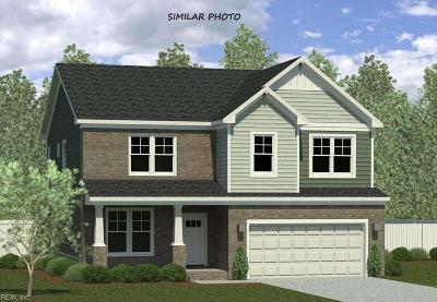 Chesapeake Single Family Home Under Contract: 3617 Daniel Way