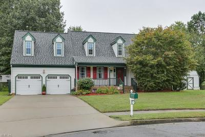 Chesapeake Single Family Home New Listing: 3606 Margaret Ct