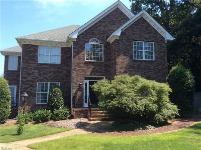 Virginia Beach Single Family Home New Listing: 1700 Pilgrims Mews