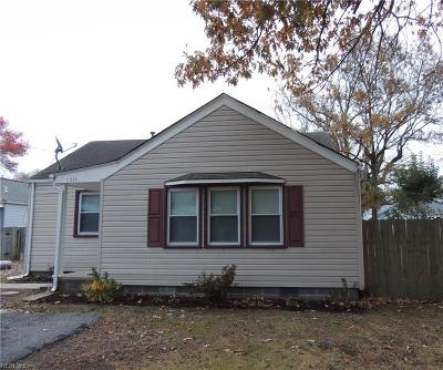 Norfolk Single Family Home New Listing: 5219 Iowa Ave