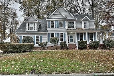Chesapeake Single Family Home New Listing: 619 Blackthorne Ct