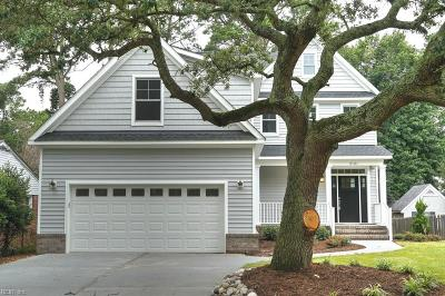 Virginia Beach Single Family Home New Listing: 2131 Bayberry St