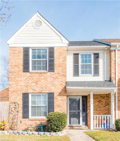 Chesapeake Single Family Home New Listing: 845 Nottaway Dr