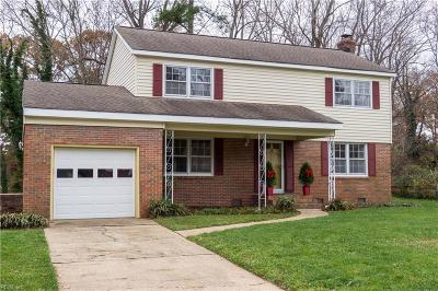 Virginia Beach Single Family Home New Listing: 629 Prince Phillip Dr