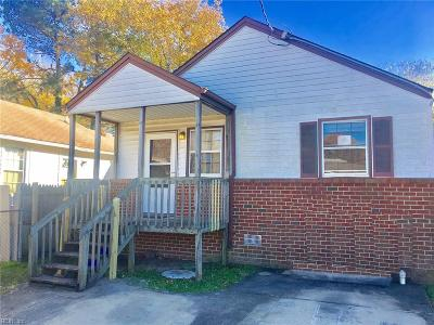 Norfolk Single Family Home New Listing: 977 G Ave
