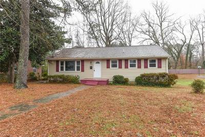 Suffolk Single Family Home New Listing: 2123 Georgia Ave