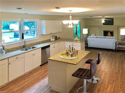 Portsmouth Single Family Home New Listing: 3806 Yaupon St