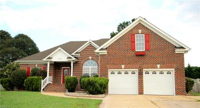 Suffolk Single Family Home New Listing: 3309 Mintonville Point Dr