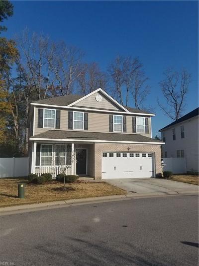 Chesapeake Single Family Home New Listing: 4229 White Cap Cres