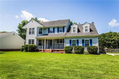Chesapeake Single Family Home New Listing: 325 Shadowlake Dr