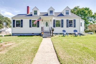 Norfolk Single Family Home New Listing: 3776 Wayne Cir