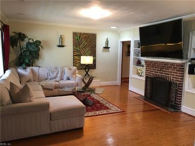 Norfolk Single Family Home New Listing: 414 Pennsylvania Ave