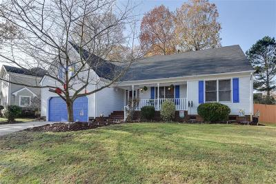 Chesapeake Single Family Home New Listing: 3220 Lynnhurst Blvd