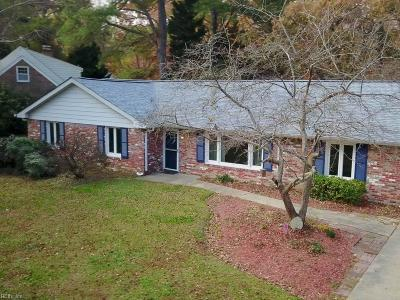 Virginia Beach Single Family Home New Listing: 1141 Revere Point Rd