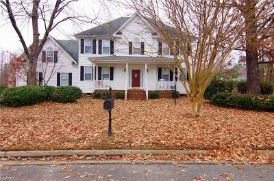 Chesapeake Single Family Home New Listing: 4705 Canary Ct