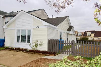 Virginia Beach Single Family Home New Listing: 1711 Purchase Arch