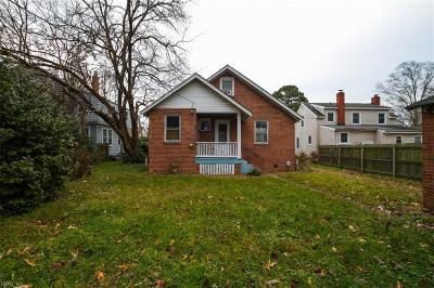 Hampton Single Family Home New Listing: 109 Alleghany Rd