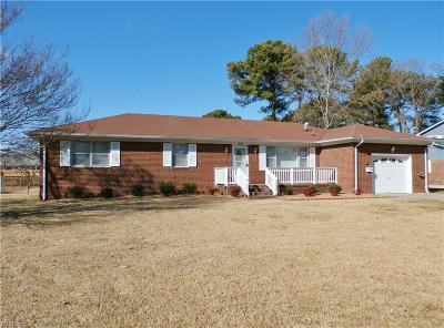 Virginia Beach Single Family Home New Listing: 1037 Miles Standish Rd