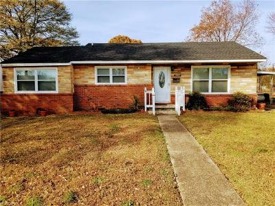 Virginia Beach Single Family Home New Listing: 5532 Westbury Rd