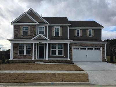Virginia Beach Single Family Home Under Contract: Lot42 Kingsfield Dr