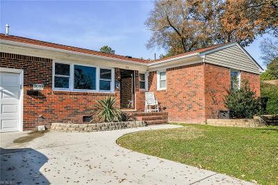 Virginia Beach Single Family Home New Listing: 817 Gloria Pl