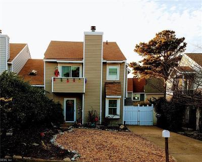 Virginia Beach Single Family Home New Listing: 2137 Whispering Sands Ln