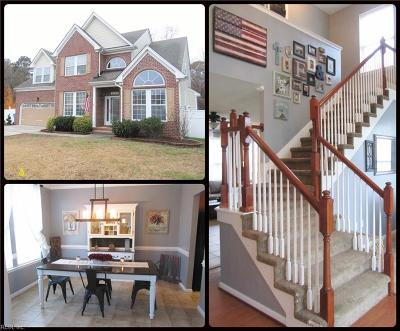 Chesapeake Single Family Home New Listing: 2153 Docking Post Dr