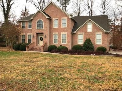 Suffolk Single Family Home New Listing: 1754 Mill Wood Way