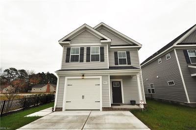 Chesapeake Single Family Home New Listing: 841 Turtle Dove Ct