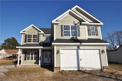 Chesapeake Single Family Home New Listing: 2504 Cedar Rd