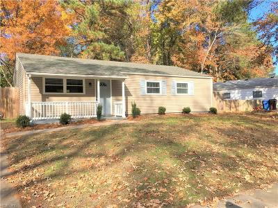 Chesapeake Single Family Home New Listing: 3416 Brandywine Dr