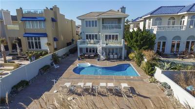 Virginia Beach Single Family Home New Listing: 612 S Atlantic Ave S