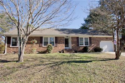 Chesapeake Single Family Home New Listing: 2745 Blacksmith Trl