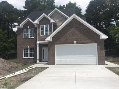 Chesapeake Single Family Home Under Contract: 632 Annaka Loop