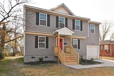Norfolk Single Family Home New Listing: 1003 Tifton St