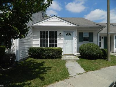 Chesapeake Single Family Home New Listing: 2816 Eric Court Ct