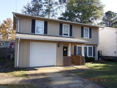 Chesapeake Single Family Home New Listing: 1469 Winslow Ave