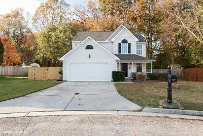 Suffolk Single Family Home New Listing: 3607 Preakness Cir