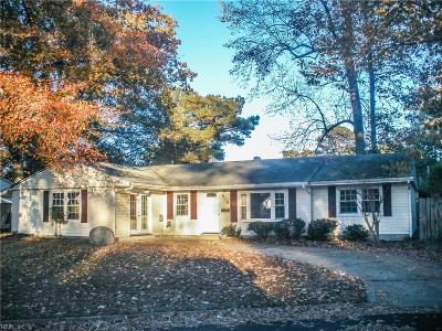 Hampton Single Family Home New Listing: 616 Greenville Ct